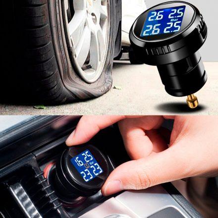 как настроить датчик давления в шинах