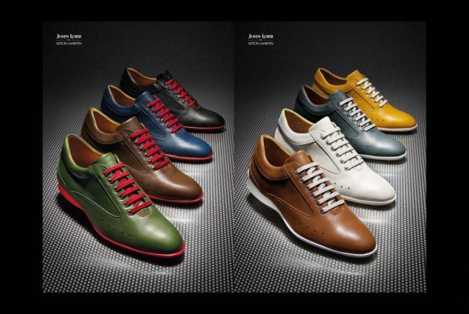John Lobb Aston Martin Driving Shoes.