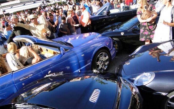 Авария в Монте-Карло.