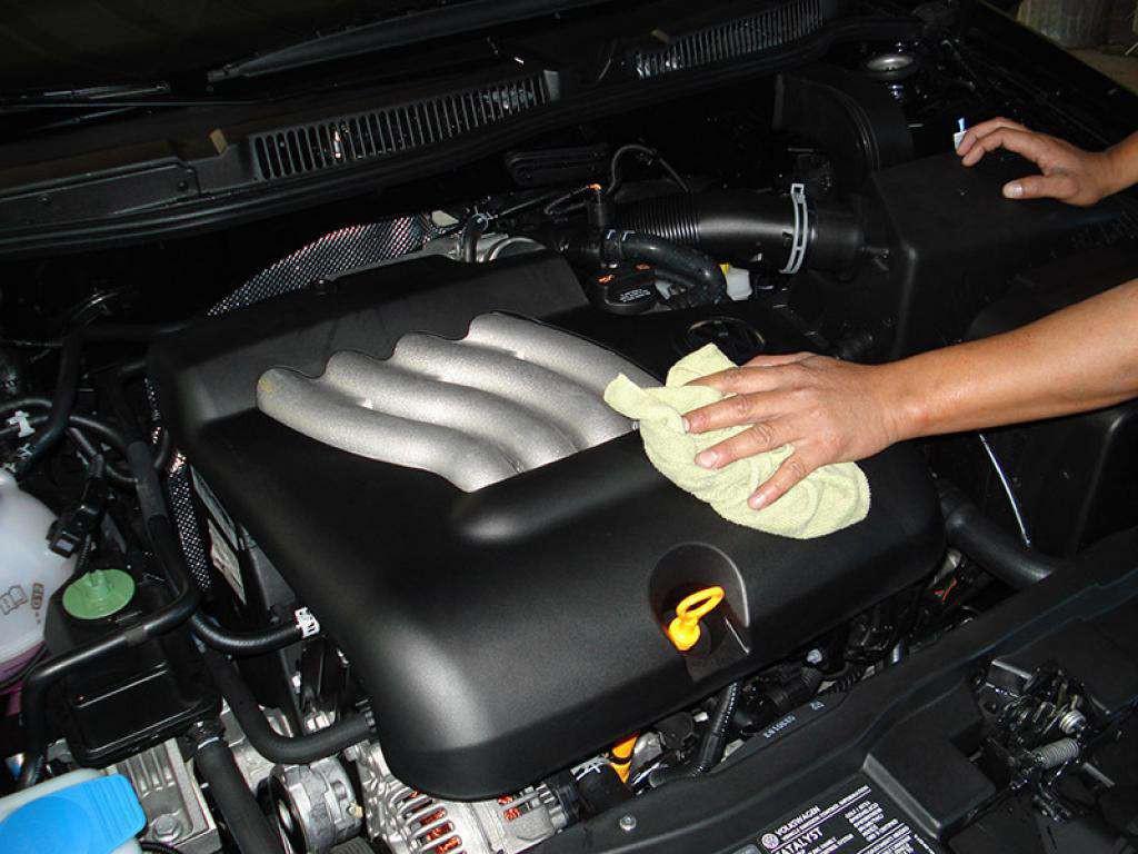 мытье двигателя вто