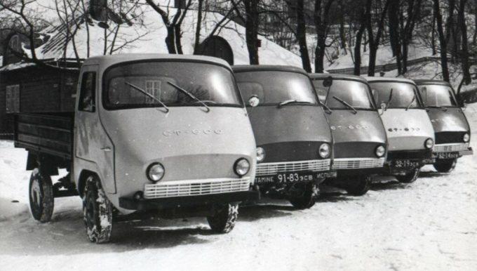 ЭТ-600 грузовики.