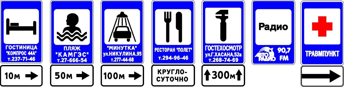 сервисные указатели