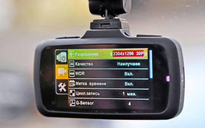 настройка экшн видеорегистртора