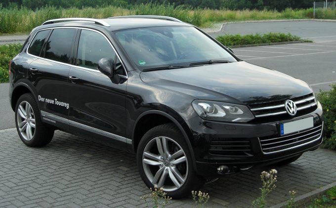 Volkswagen Туарег.