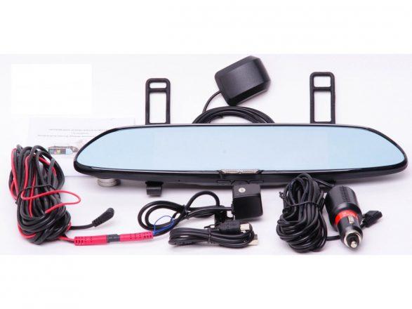 комплект видеорегистратор зеркало