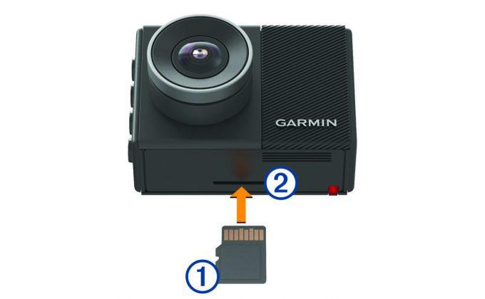 извлечение карты памяти из видеорегистратора