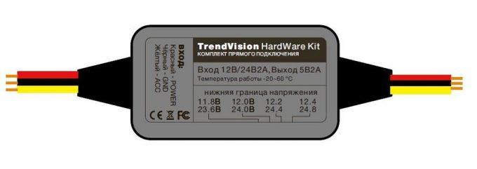 Hardware kit для видеорегистратора