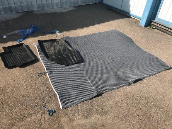 как сделать эва коврик самому